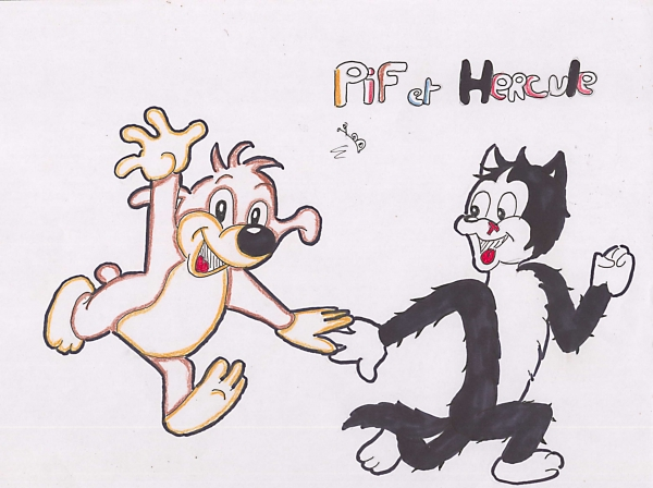 Pif et Hercule by Papillondepassage
